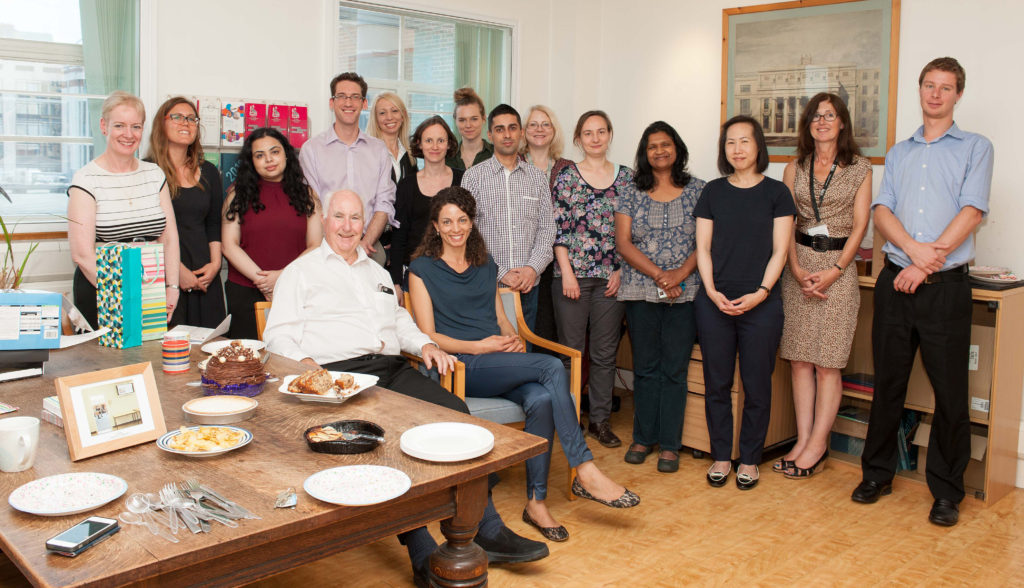 Sir Peter and team (1 of 2)